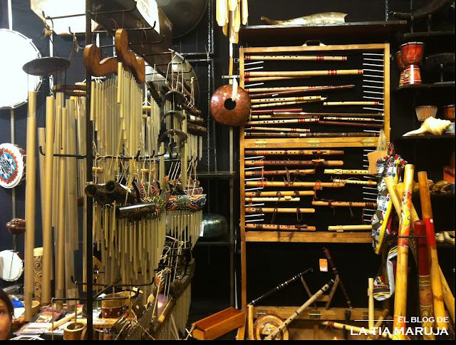 Biocultura Madrid instrumentos musicales