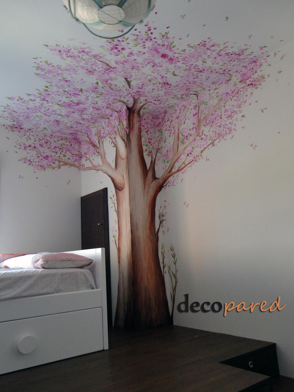 Decopared murales de rboles for Murales de pared pintados