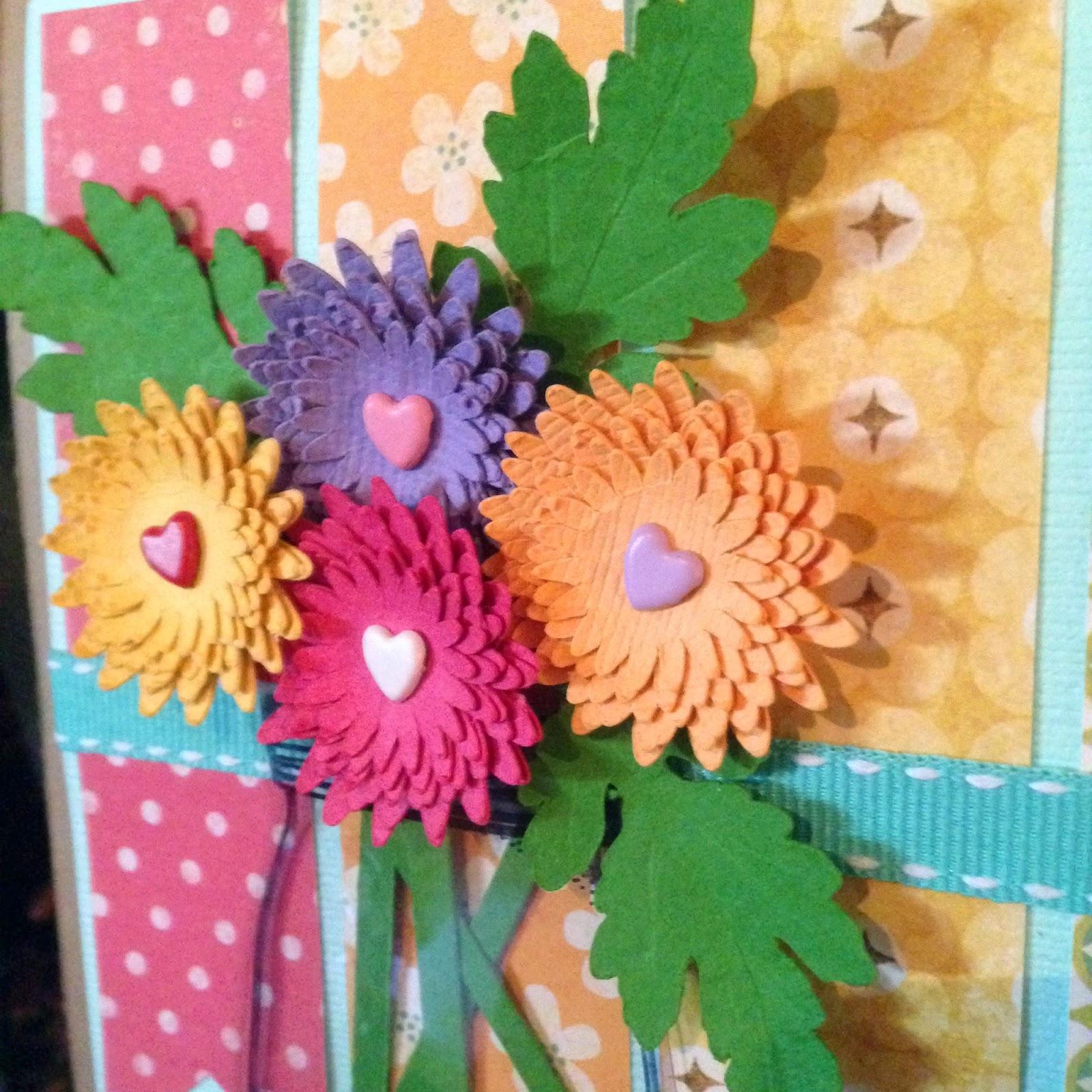 Thinking Of You Handmade Sympathy Card Alice Scraps Wonderland A