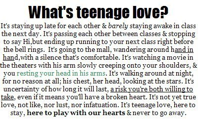 Teenage I Love You Quotes : ... you better make sure you dont lie to the ones you love, a lie that is