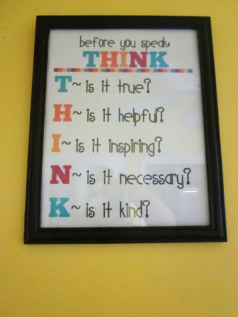 THINK Printable