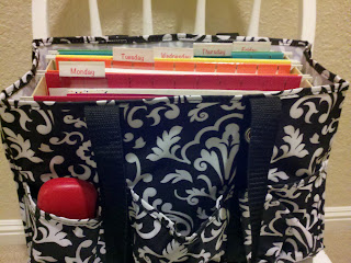 Time 4 Organization: Teacher Work Bags