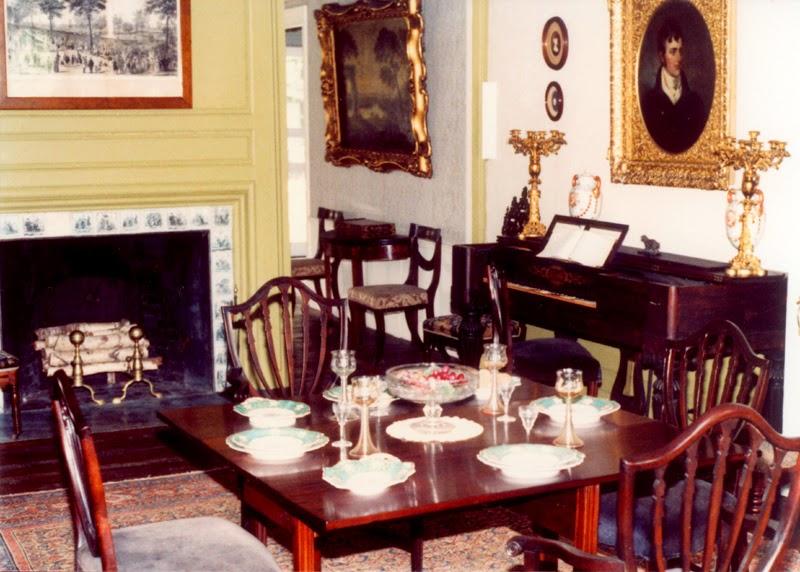 1770s dinning room