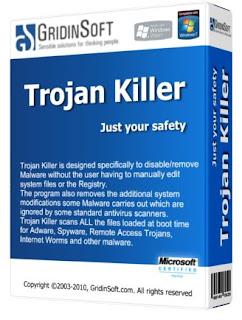 برنامج Trojan Killer ضد ملفات التروجن وملفات التجسس