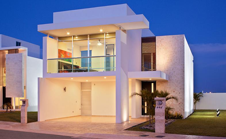 Casas en venta y departamentos casa muestra modelo for Casa modelo minimalista