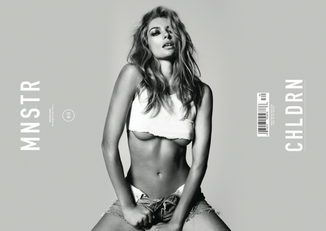 Jessica Hart Covers Monster Children No.40