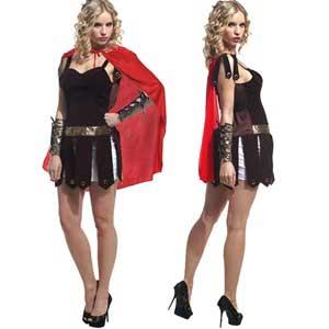 disfraz casero de romana sexy