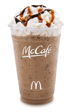 calls it the Frappé Chocolate Chip and not the Chocolate Chip ...