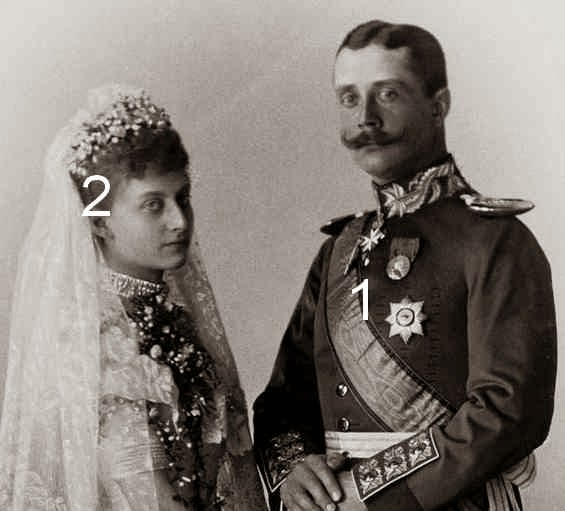 Feodora de Saxe-Meiningen et d'Heinrich XXX Reuss