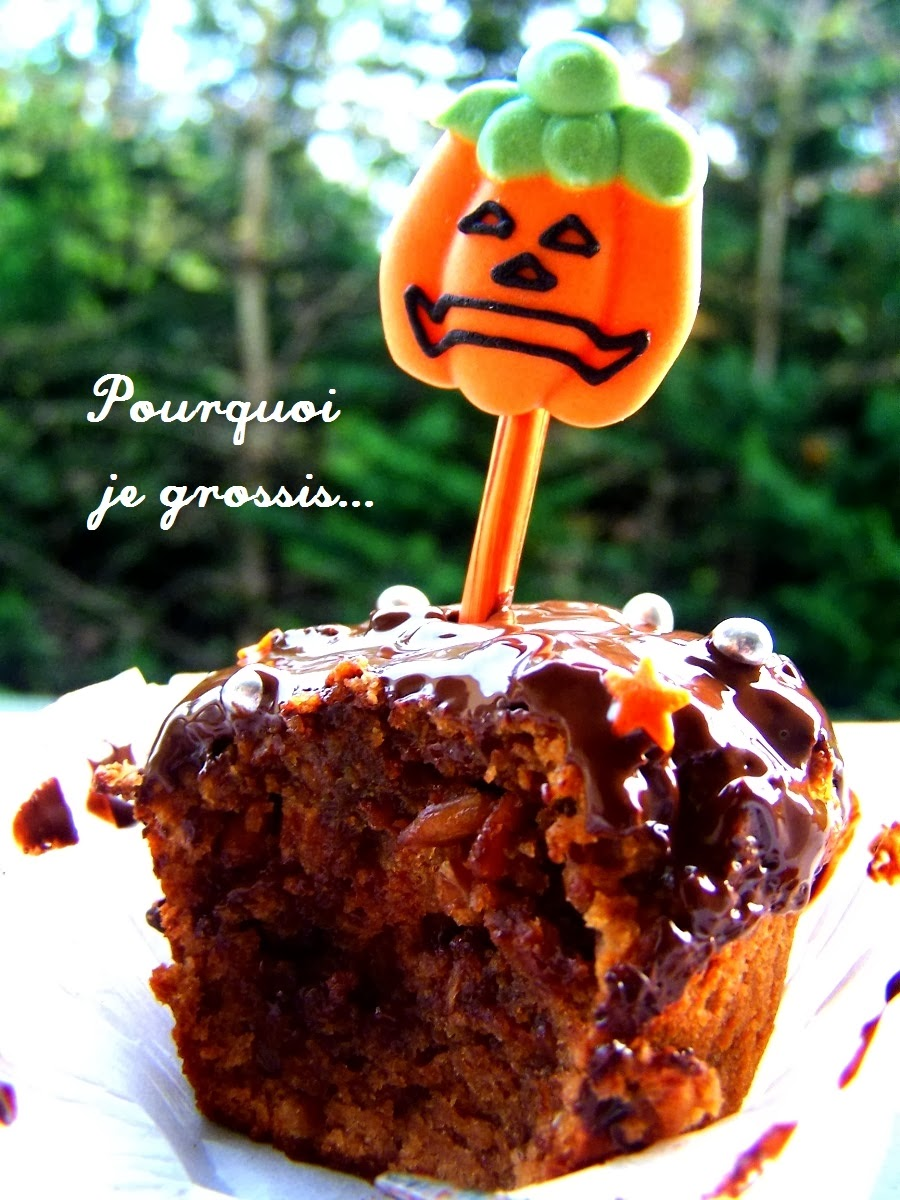 Pourquoi je grossis cupcakes saveur chocolat for Pourquoi je grossis