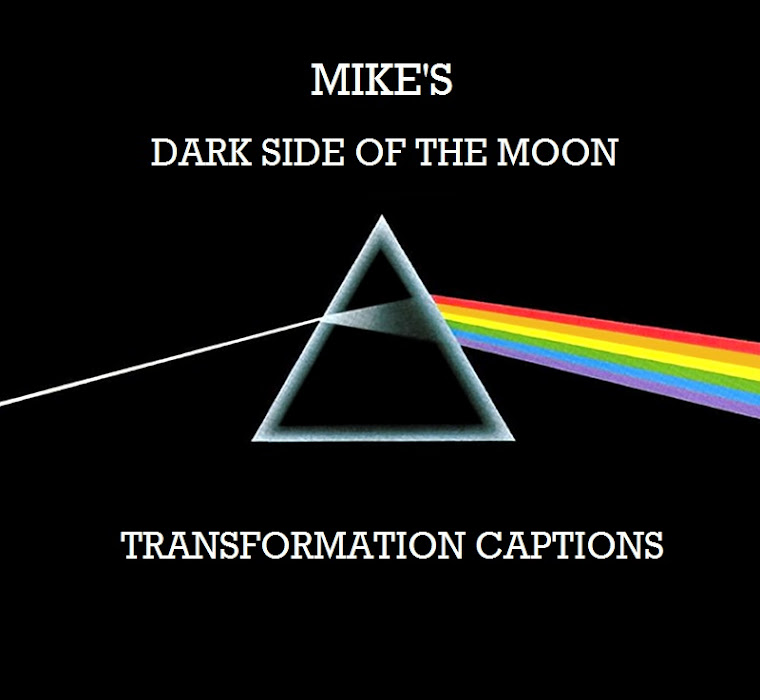 Mike 39 s dark side of the moon transformation captions my What does it mean when the moon is pink