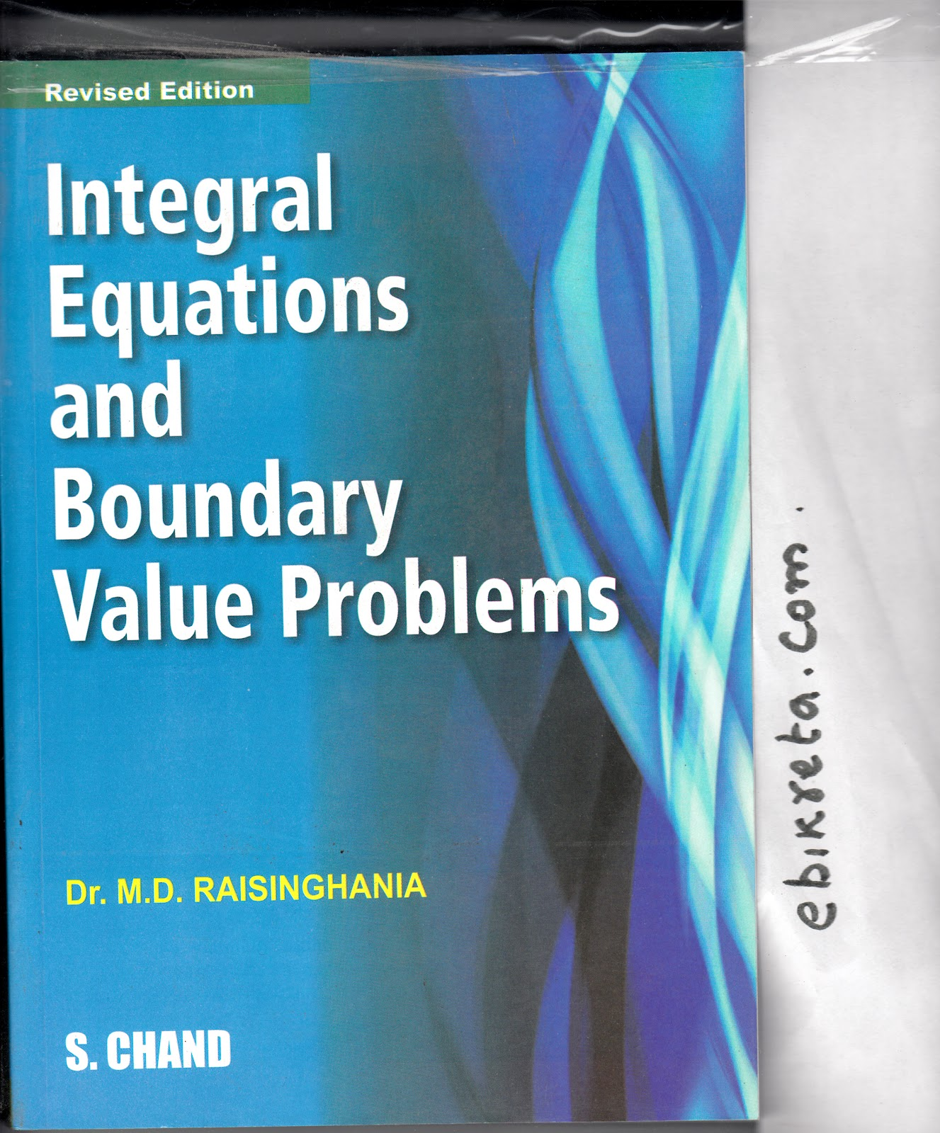 ... GATE/ IIT/ IFS: Integral Equation and Boundary Value Problems by M D