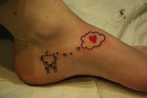 tumblr l0sd5dJtR61qzabkfo1 500 >#tattoofriday   Robot
