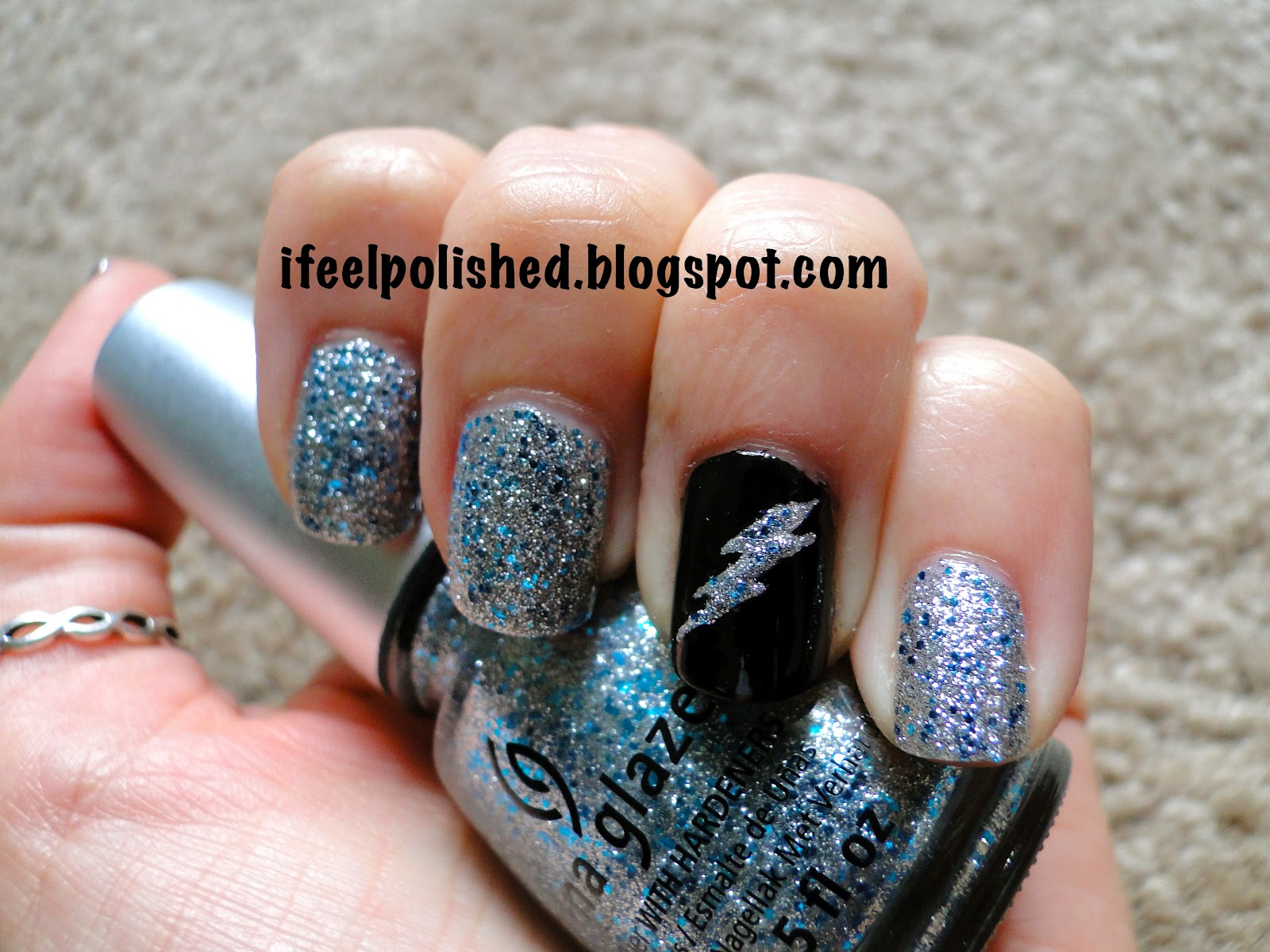 Diy Easy Rainbow Lightning Nails My Own Email