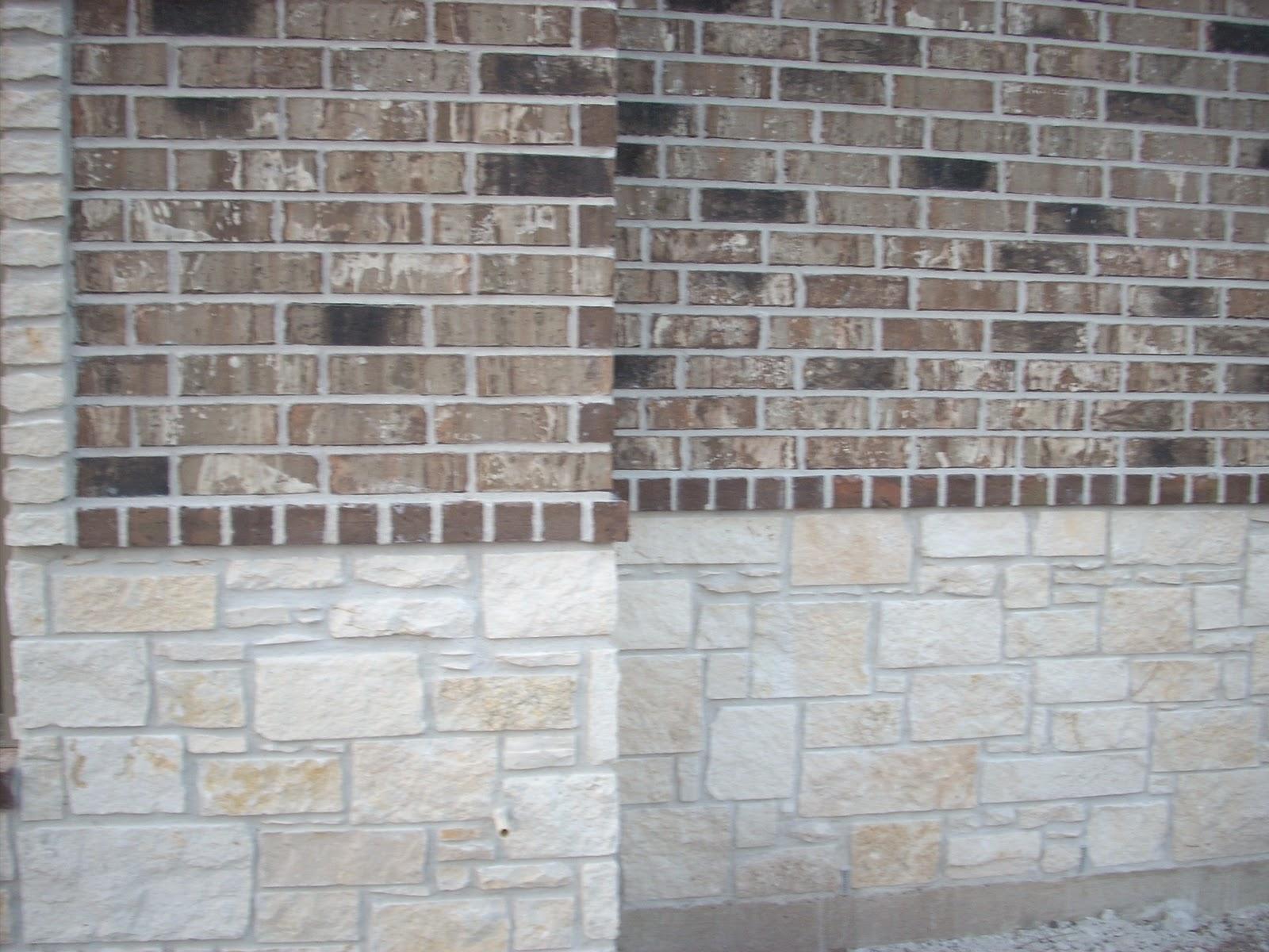Perk Lane House Construction Brick And Stone