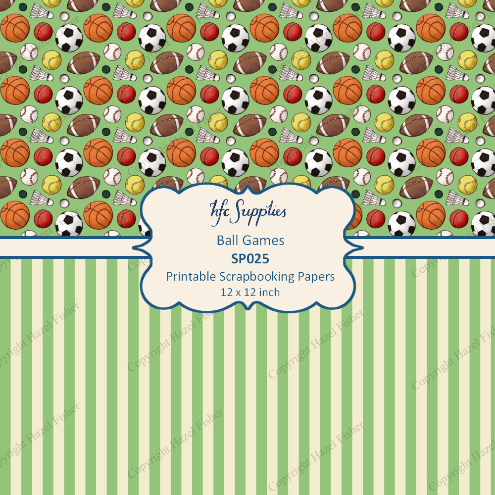 Scrapbook paper etsy - These Printable Papers