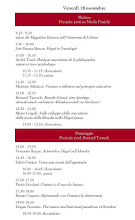Programma: venerd 18 novembre