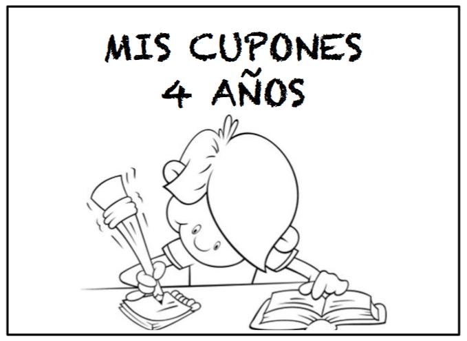 CUPONES 4 AÑOS