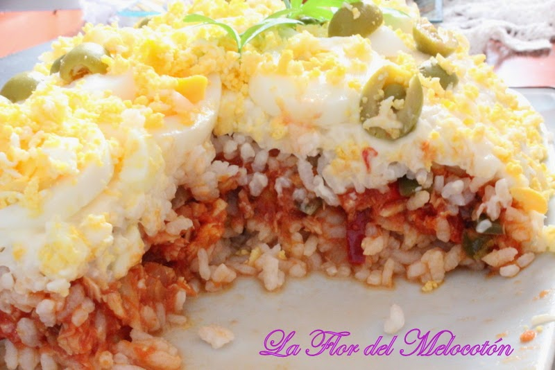 Un plato perfecto para los días de más calor: pastel frío de arroz