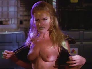 Zarina boobies in Leprechaun 4 rebecca carlton tits