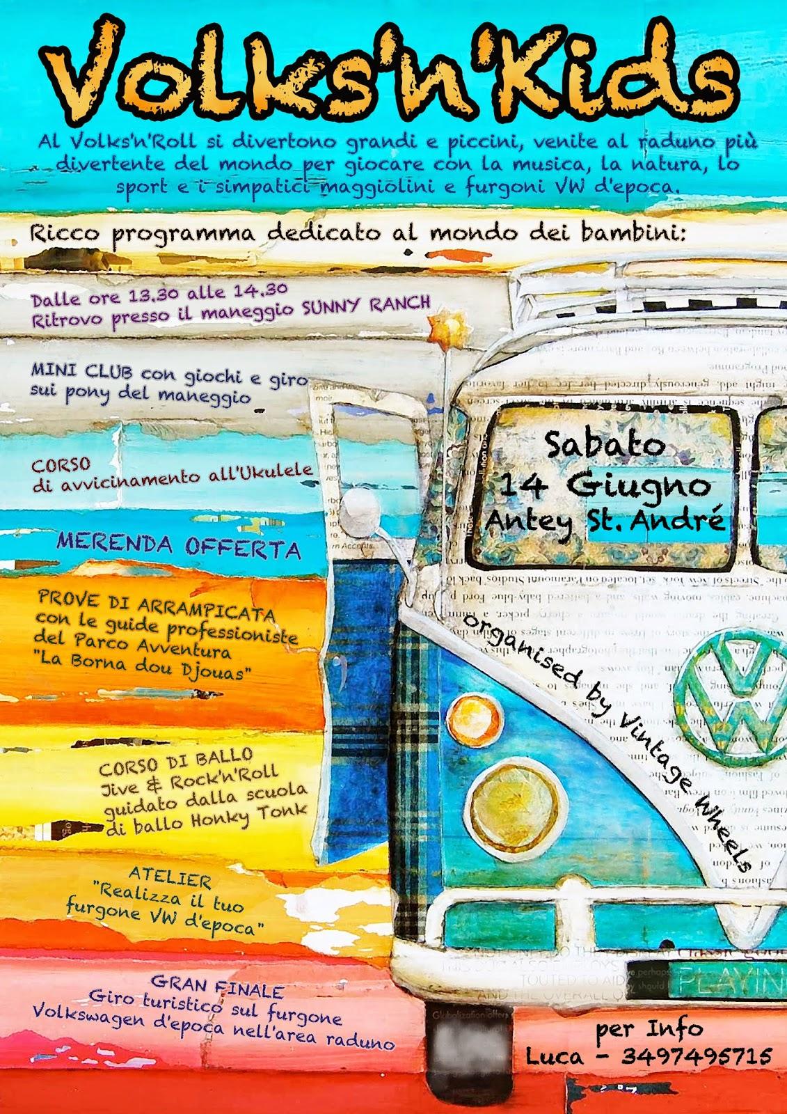 Volks 39 n 39 roll antey saint andr ao volks 39 n 39 kids il for Piccoli progetti di ranch