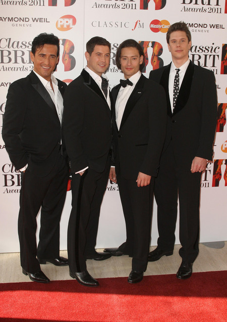 One more dawn review classic brit awards 2011 - Il divo cast ...