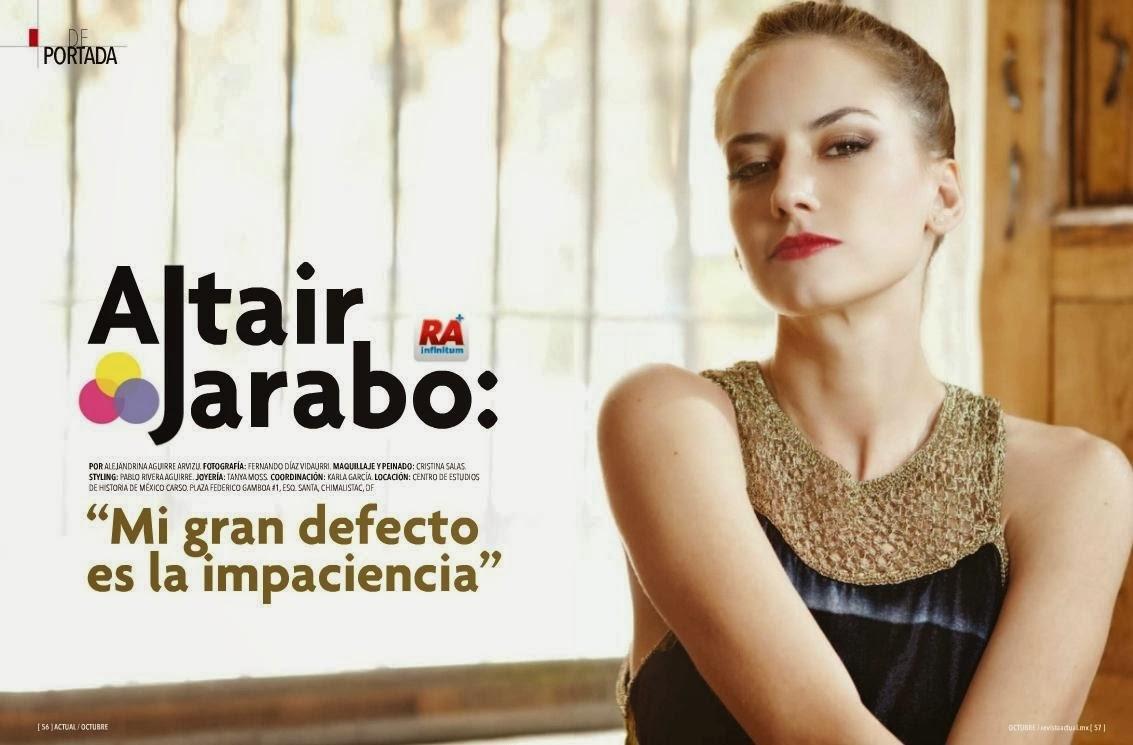 Altair Jarabo Magazine...