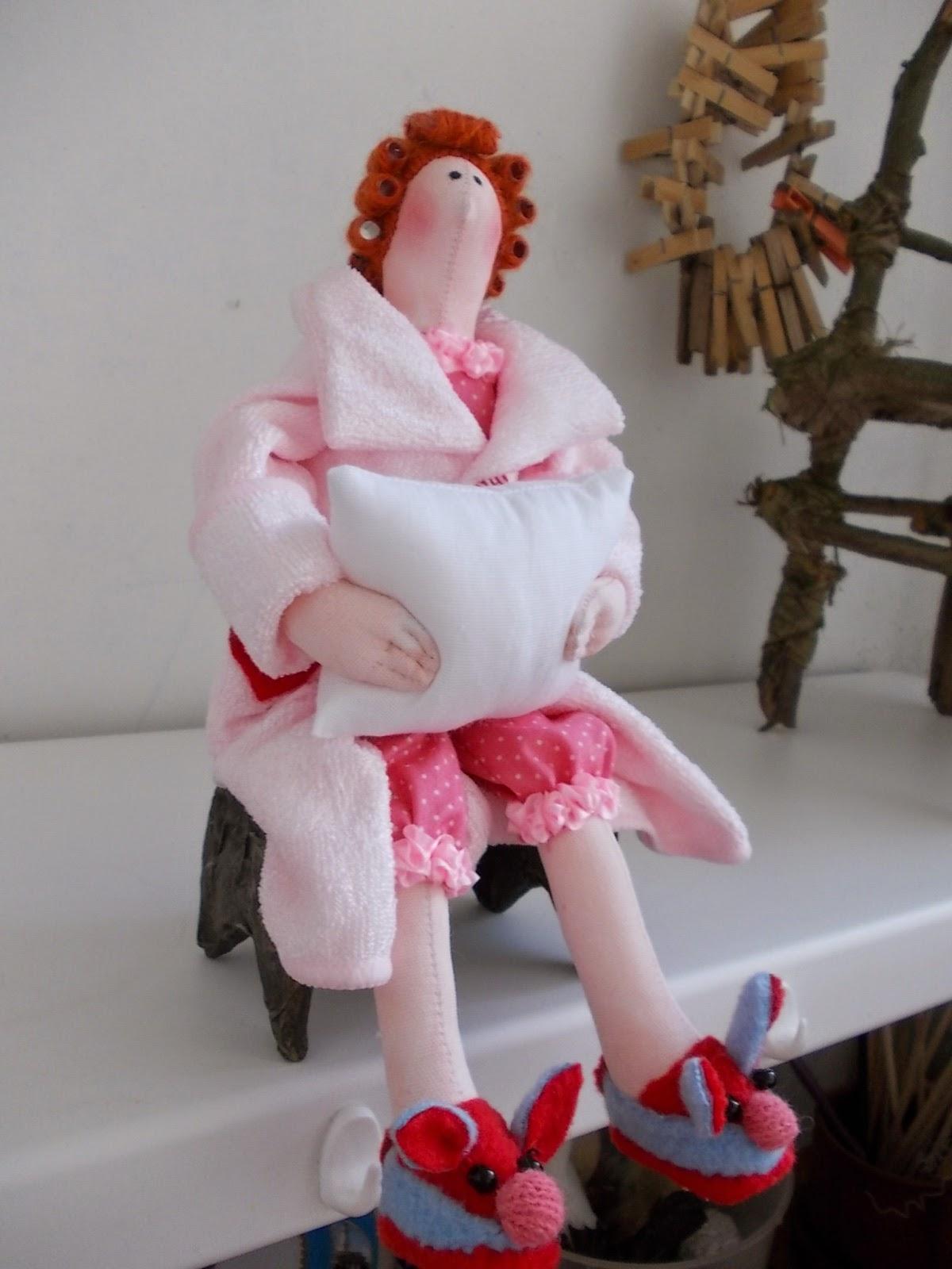 Как сшить куклу сплюшку. Мастер-класс 58