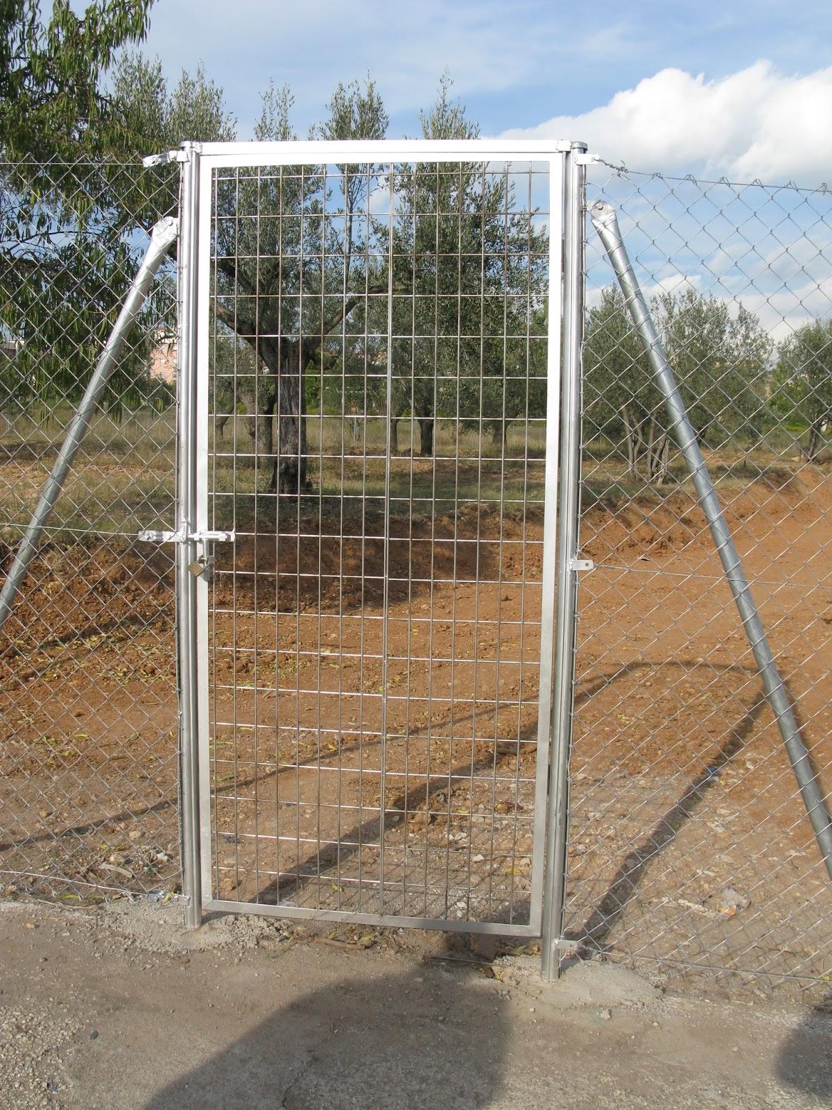 Vallas met licas puertas en barcelona - Puertas para vallas ...