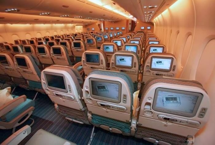 Airbus a380 interior picture from singapore airlines for A380 air france interieur