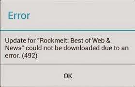 Cara Mengatasi Error 492 Ketika Download Aplikasi di Playstore