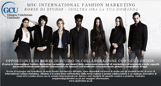 AllSaints - Master in International Fashion Marketing - Borsa di studio