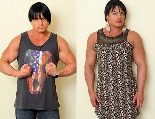Ketagihan Steroid, Lihat Perubahan Wanita Ini