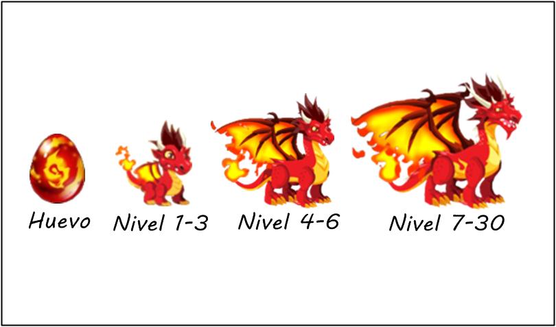 Dragon City: Dragón Fuego