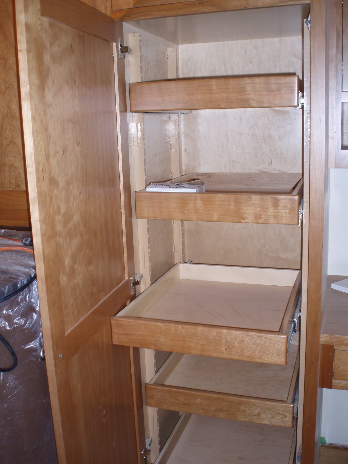 Kitchens Pantry Pull Out Drawers