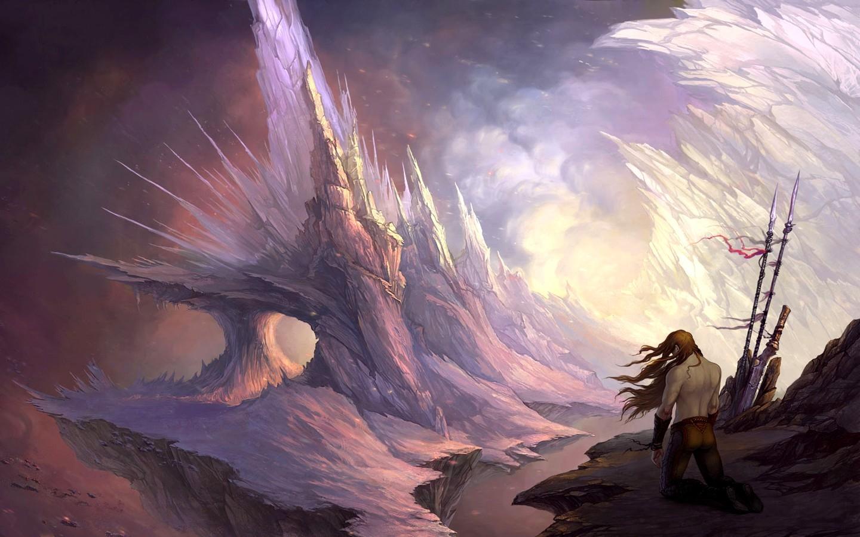 Il rifugio degli elfi strada fantasy for Paesaggi fantasy immagini