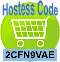 CURRENT HOSTESS CODE TO USE WITH ONLINE STAMPIN' UP! ORDERS