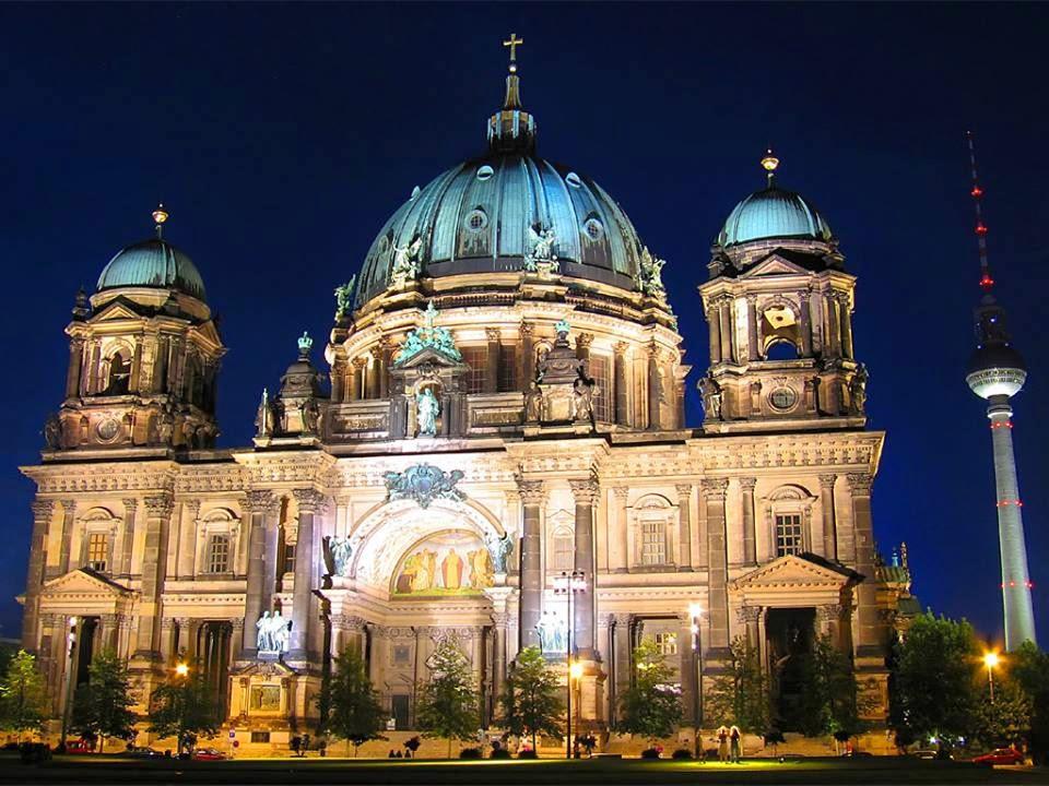 معلومات عن برلين عاصمة ألمانيا الإتحادية