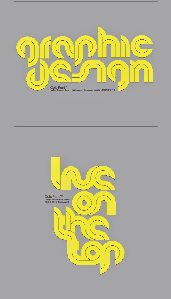 Svetoslav Simov Typography Portfolio