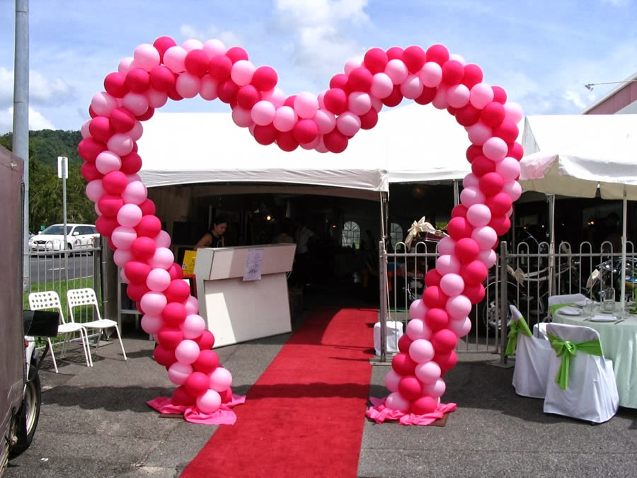 Balloon Sculpting Singapore: Balloon Decorations Singapore - Entrance