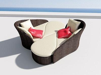 diseño sofá exteriores