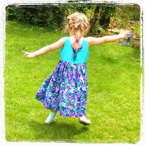 floral children's dress