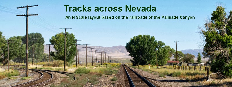 Tracks across Nevada