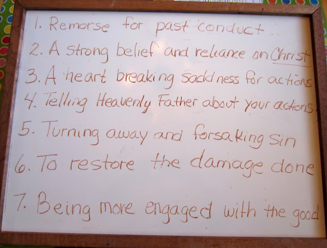 student essay on repentance in bible