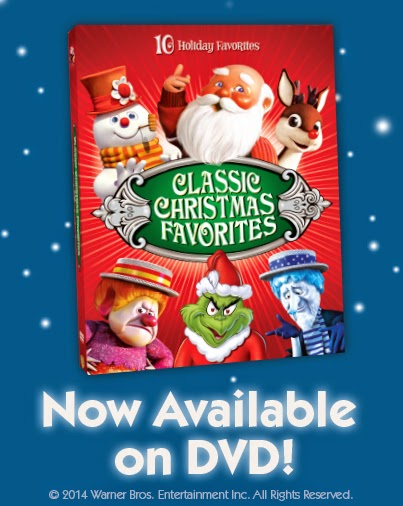 pump it up sweepstakes classic christmas favorites dvd giveaway ends 11 18 - Classic Christmas Shows