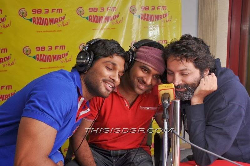Devi Sri Prasad at Radio Mirchi Hyderabad - Julayi Promotion