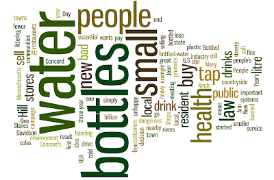 Use Wordles in class with texts