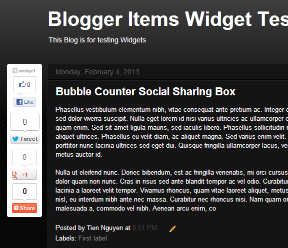 Also display good on dark color scheme - Floating Bubble Counter Social Share Plugin