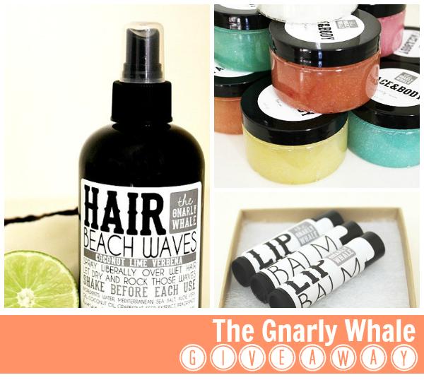 Gnarly Whale GIVEAWAY | 100% Vegan bath & body products
