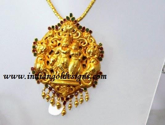 Gold and diamond jewellery designs radha krishna pendant checkout 22k gold designer temple jewellery radha krishna pendant aloadofball Gallery